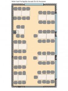 Roter Saal 65-Personen
